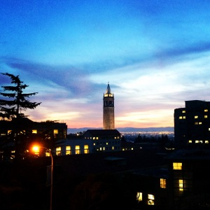 A picture I took several months ago. Sunset in Berkeley never gets old