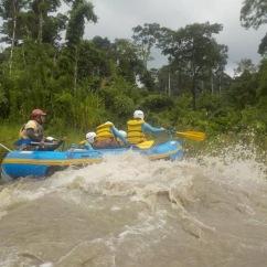 Hitting some rapids