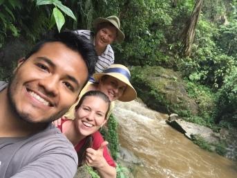 Jungle waters at Laguna Azul
