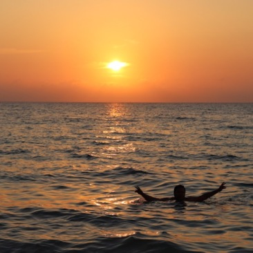 Sunset at Playa Blanca
